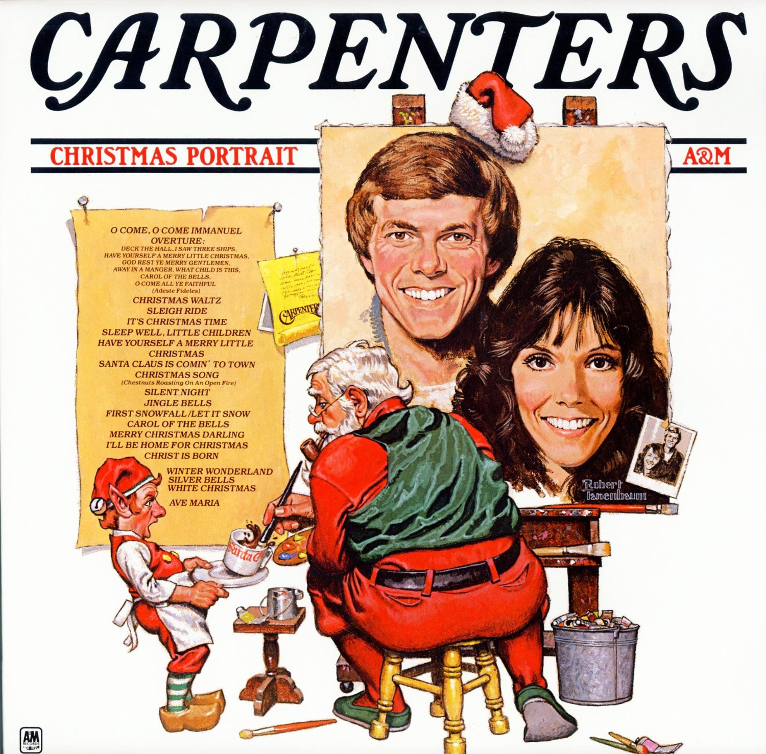 The carpenters christmas portrait records christmas for Classic house albums
